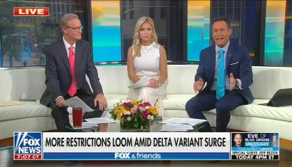 Defending people who don't want to get vaccinated, Brian Kilmeade argues it's not the government's job to protect people from dying