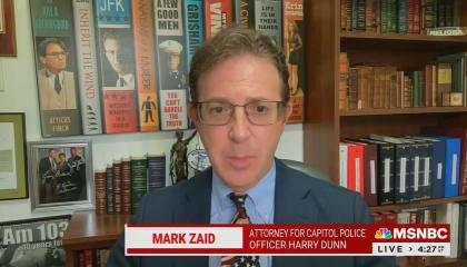 Mark Zaid from the shoulders up