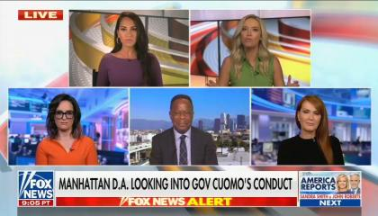Fox Panel discusses Andrew Cuomo scandal