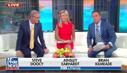 Fox & Friends host don't understand the difference between climate change and weather