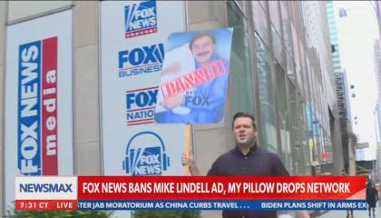 Newsmax condemns Fox News and praises Mike Lindell