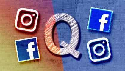 QAnon Facebook Instagram