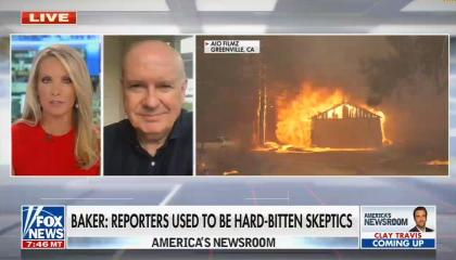 On America's Newsroom, Gerry Baker Criticizes Media's Climate Coverage