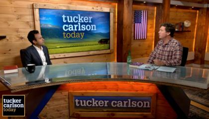 Vivek ramaswamy and Tucker Carlson