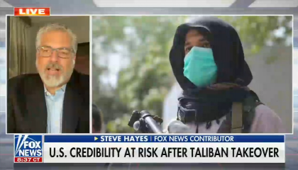 Fox brings Stephen Hayes on to talk about Afghanistan