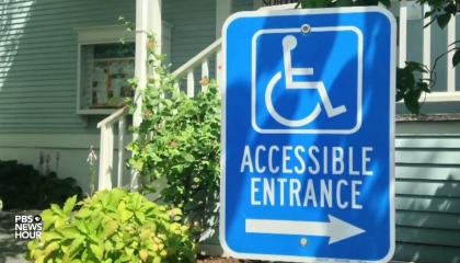 Accessible entrance image