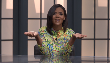 """During tirade against schools, Candace Owens says they're worse than """"Hitler and Stalin Youth"""" because """"Hitler and Stalin Youth were taught to love their country"""""""