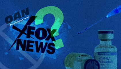 OAN, Fox News, Right wing media and vaccines