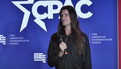 Scott Presler at CPAC Minnesota in 2021