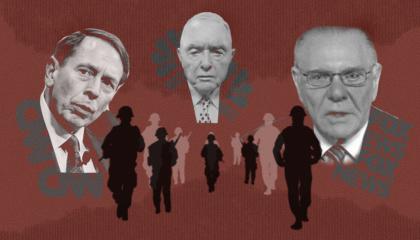 David Petraeus, Barry McCaffrey and Jack Keane