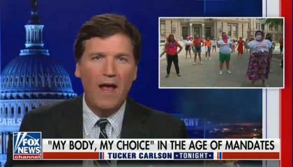 "Tucker Carlson says Texas' extreme anti-choice law isn't ""especially radical"""