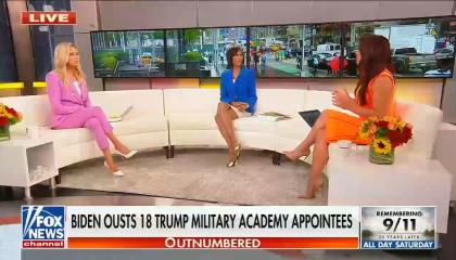 Emily Compagno speaks to Outnumbered panel about Biden firing Trump admin appointees