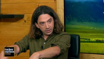 Tucker Carlson hosts Curtis Yarvin on Tucker Carlson Today