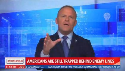 Watch Newsmax host cut the feed and scream at a veteran guest