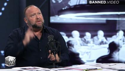 Alex Jones claims Tucker Carlson has said to his face that he woke him up