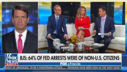 Fox & Friends / Griff Jenkins / 64% statistic
