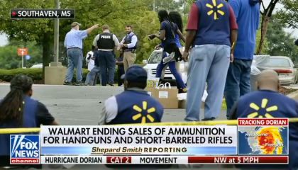 Fox News on Walmart's open carry rules