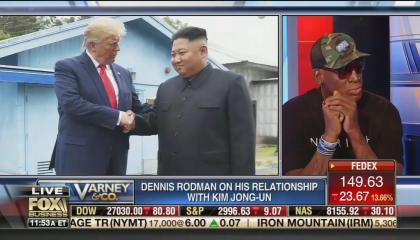 Dennis Rodman Fox Business