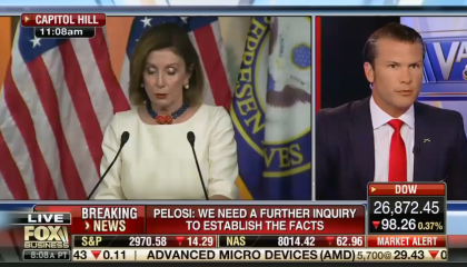 "Fox's Pete Hegseth: ""One man's whistleblower is another man's political leaker who has an agenda"""