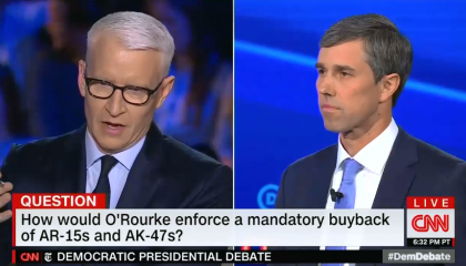 CNN's Anderson Cooper questions how a mandatory buy back program will be enforced