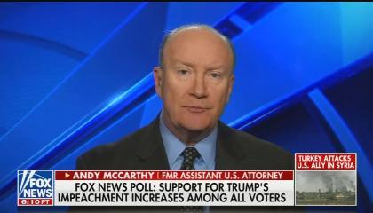 Andrew C McCarthy impeachment