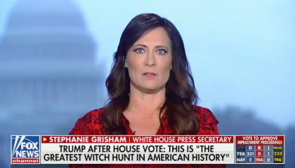 Grisham Fox News impeachment vote