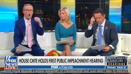 Steve Doocy waters down Taylor testimony