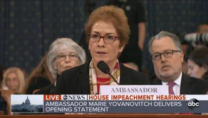 Yovanovitch opening statement