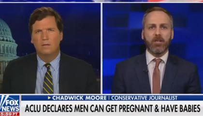 Tucker Carlson and Chadwick Moore