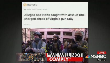 White Nationalists arrested ahead of pro-gun rally in Richmond, VA