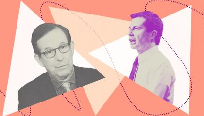Chris Wallace and Pete Buttigieg