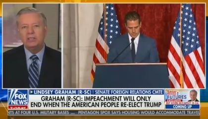 Senator Graham calls for an investigation into Biden while on Fox News