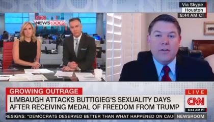 CNN political commentator justifies Rush Limbaugh's anti-LGBTQ bigotry towards Pete Buttigieg