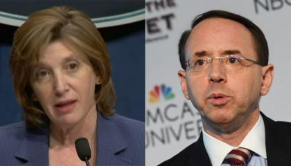 Dr. Nancy Messonnier / Rod Rosenstein