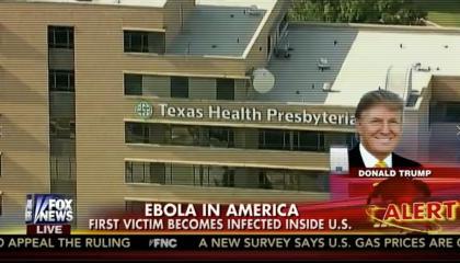 Ebola Trump