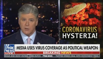 Coronavirus hysteria