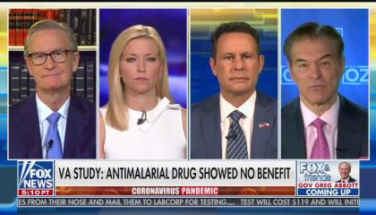 Fox & Friends hydroxychloroquine 4/22/20