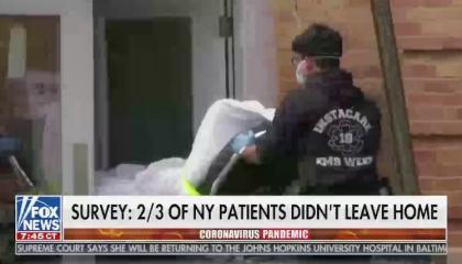 66% Fox News / NY COVID