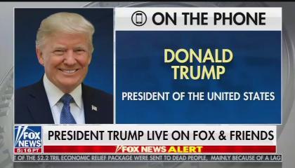 Trump F&F 5/8/20