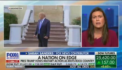 Fox Business / Trump Church 6/2/20