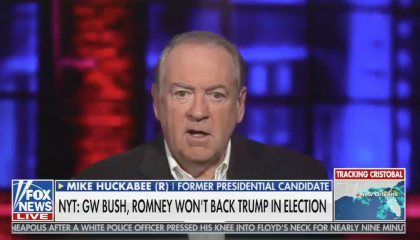 "Fox's Mike Huckabee: ""I'm going to be livid"" if Republican politicians don't support Trump"