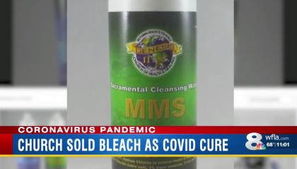 Genesis II Church of Health and Healing MMS bleach product
