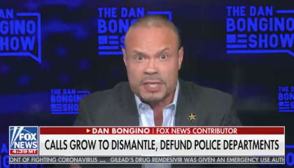 "Bongino calls plans to defund police departments ""catastrophic"""