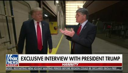 Hannity / Trump no masks
