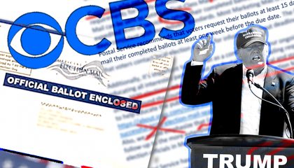 CBS's reporting on mail in voting lead to it getting co-opted by the GOP and right wing media
