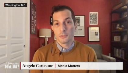 Angelo Carusone QAnon Democracy Now 8/24/20