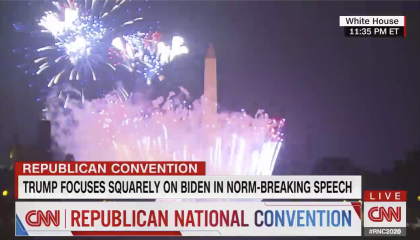 CNN Covers the 2020 Republican National Convention