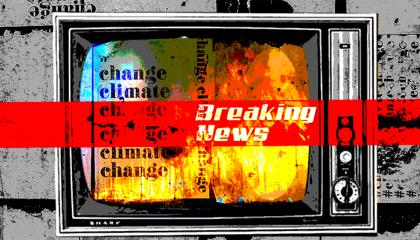 Broadcast news climate change / fires 2020