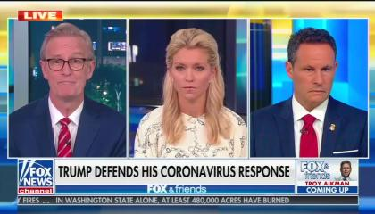 Fox & Friends Trump COVID response 9/10/20