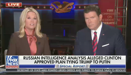 Fox News runs with Trump DNI's new Russian disinformation effort